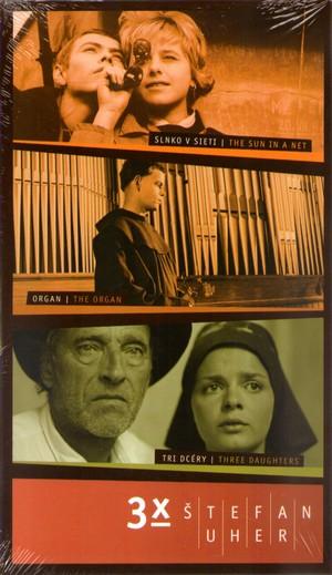 3x Štefan Uher - 3 DVD