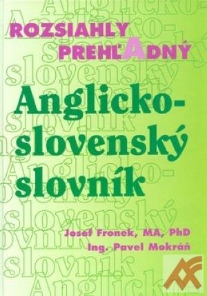 Rozsiahly prehľadný Anglicko-slovenský slovník
