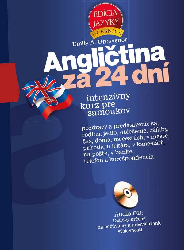 Angličtina za 24 dní + CD