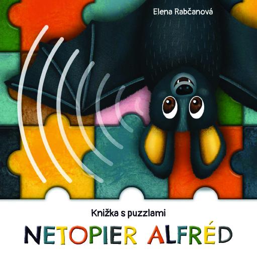 Netopier Alfréd - knižka s puzzlami