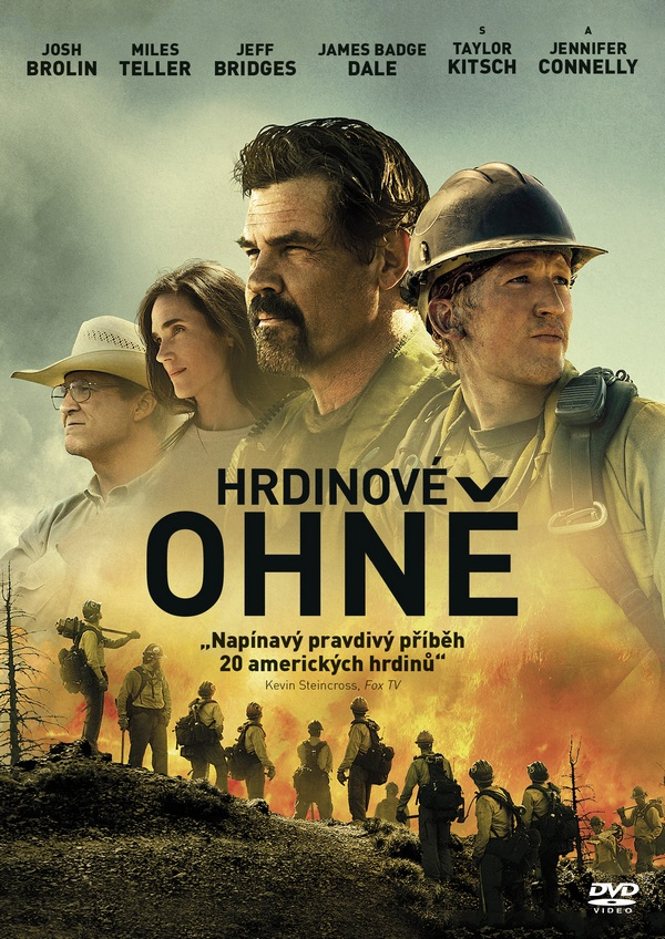 Hrdinové ohně - DVD