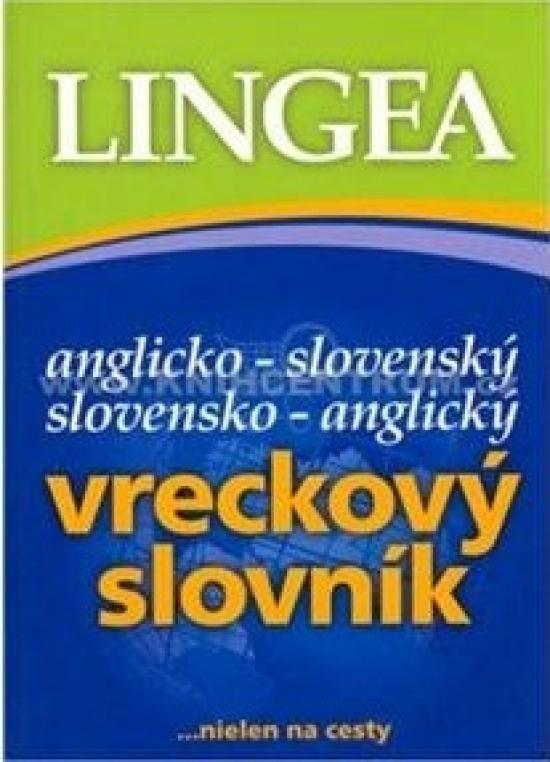 Anglicko-slovenský, slovensko-anglický vreckový slovník