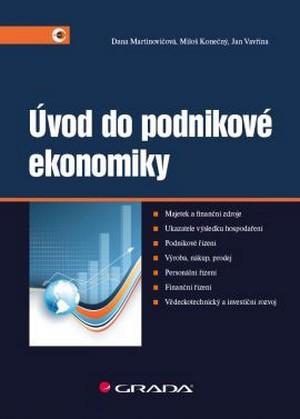 Úvod do podnikové ekonomiky