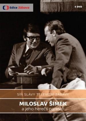 Síň slávy televizní zábavy. Miloslav Šimek a jeho herečtí partneři - 4 DVD