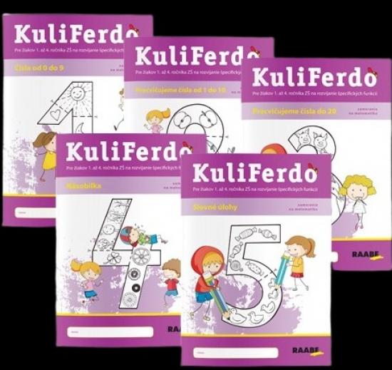 KuliFerdo - Vývinové poruchy učenia - číselka - sada (5ks)