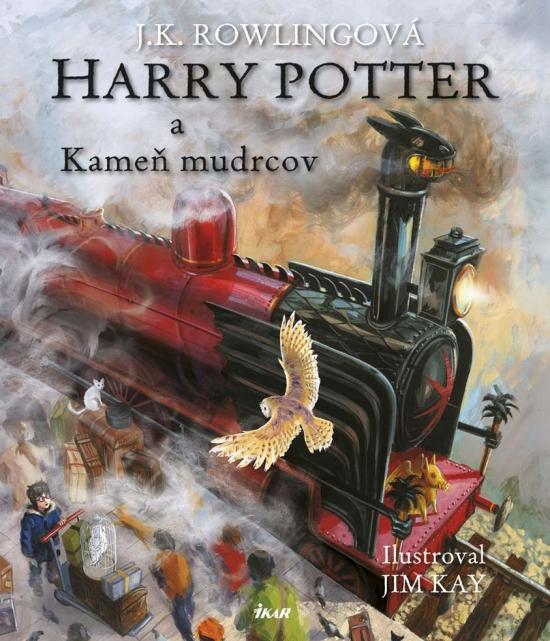 Harry Potter a Kameň mudrcov - Ilustrovaná edíci