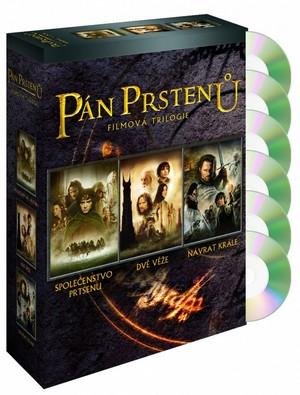 Pán prstenů. Filmová trilogie - Kolekce 6 DVD