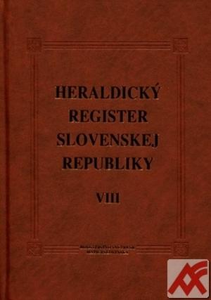 Heraldický register Slovenskej republiky VIII.