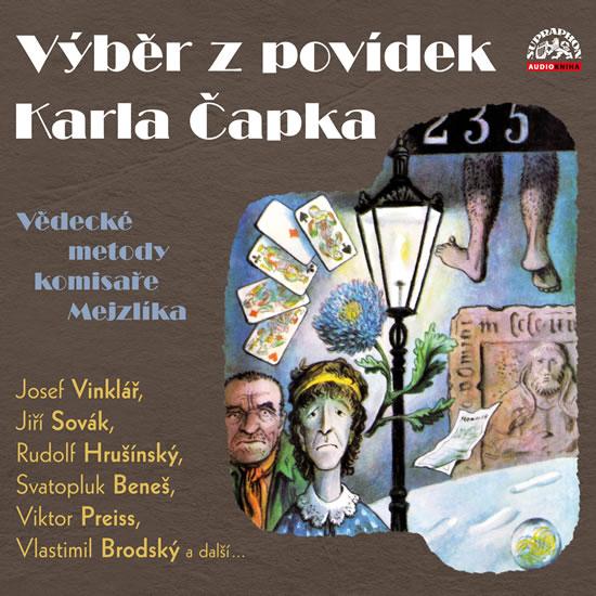 Výběr z povídek Karla Čapka - CD (audiokniha)