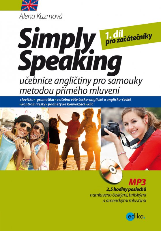 Simply Speaking + MP3 CD