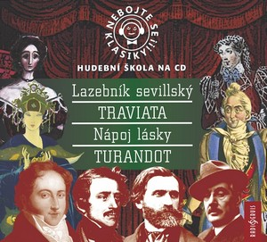 Nebojte se klasiky! Komplet italské opery (13-16) - 4 CD