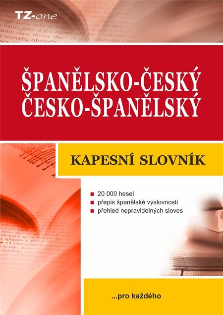 Španělsko-český/ česko-španělský kapesní slovník