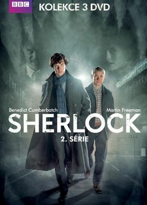 Sherlock - 2.séria - 3 DVD (komplet)
