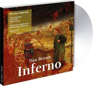 Inferno - 2 CD MP3 (audiokniha)