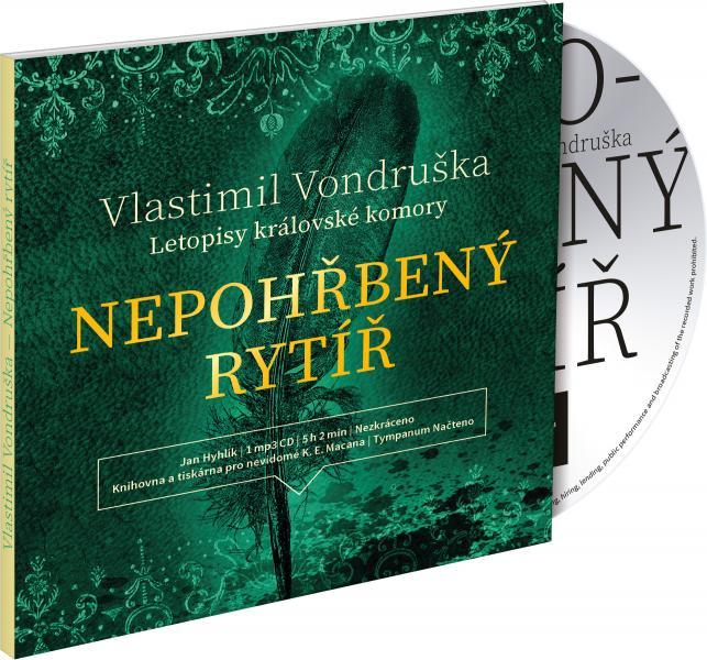 Nepohřbený rytíř - CD MP3 (audiokniha)