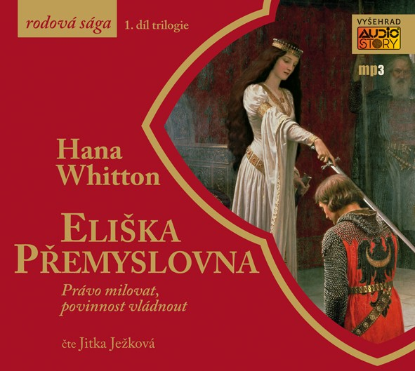 Eliška Přemyslovna - CD MP3 (audiokniha)