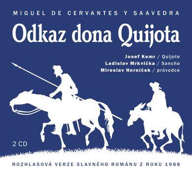 Odkaz Dona Quijota - 2 CD (audiokniha)