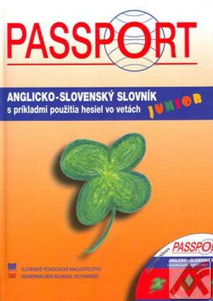 Passport Junior. Anglicko-slovenský slovník + CD