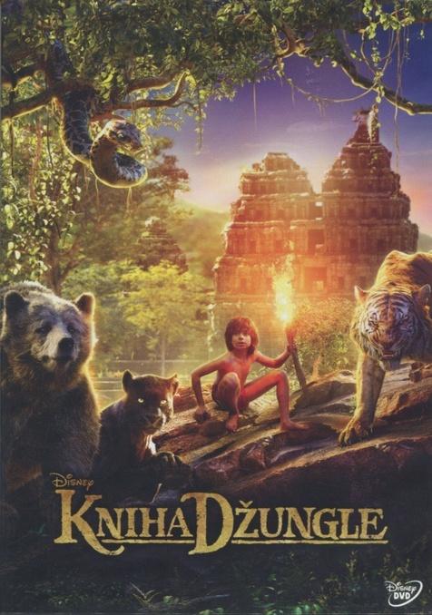 Kniha džungle - DVD