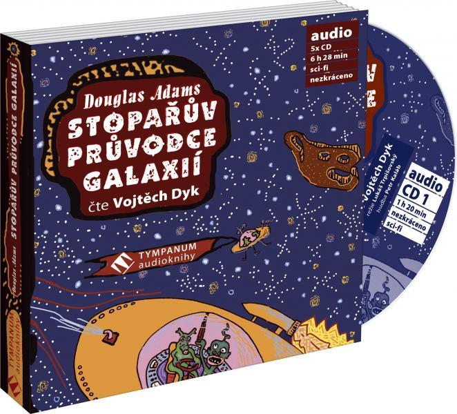 Stopařův průvodce galaxií - CD MP3 (audiokniha)