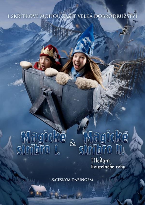 Magické stříbro I. & Magické stříbro II. - DVD