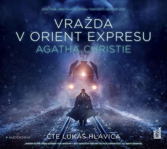 Vražda v Orient-expresu - CD MP3 (audiokniha)