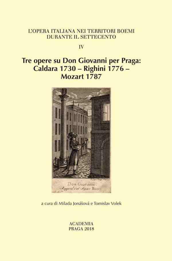Tre opere su Don Giovanni per Praga