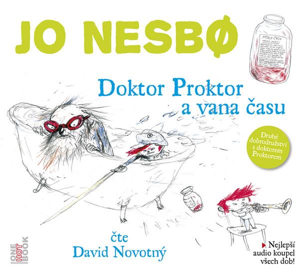 Doktor Proktor a vana času - CD (audiokniha)