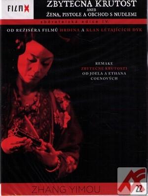 Zbytečná krutost aneb Žena, pistole a obchod s nudlemi - DVD (Film X IV.)