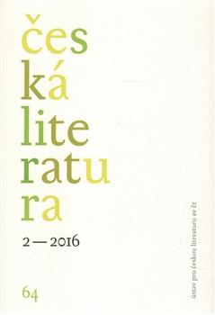 Česká literatura 2/2016