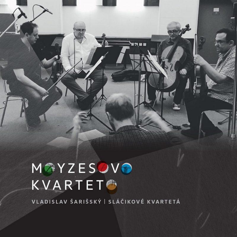 Vladislav Šarišský / Sláčikové kvartetá - CD