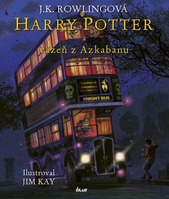 Harry Potter a Väzeň z Azkabanu - Ilustrovaná edícia