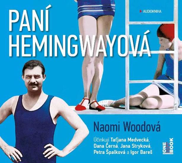 Paní Hemingwayová - 2 MP3 CD (audiokniha)
