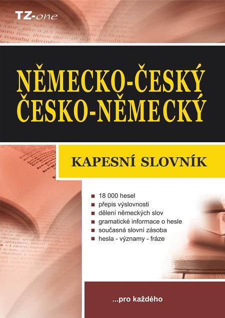Německo-český/ česko-německý kapesní slovník