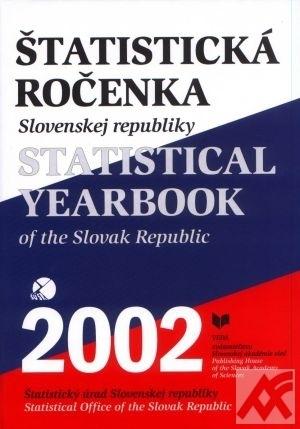 Štatistická ročenka SR 2002 + CD