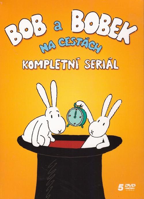Bob a Bobek na cestách - 5 DVD (kolekcia)