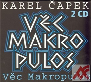 Věc Makropulos - 2 CD (audiokniha)
