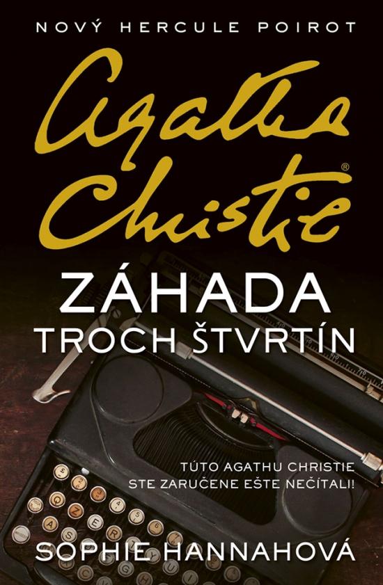 Záhada troch štvrtín. Agatha Christie