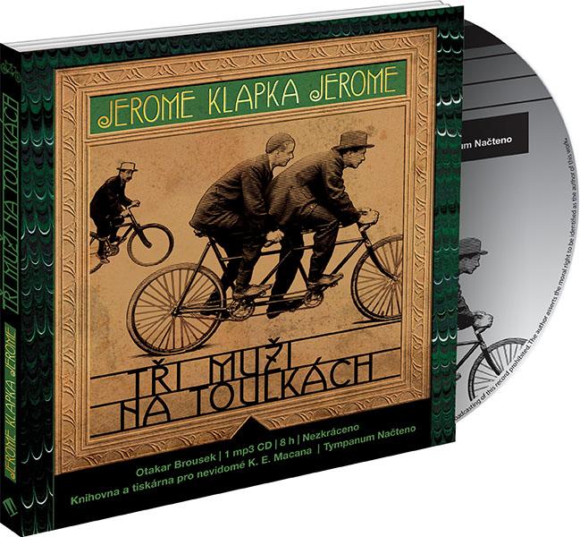 Tři muži na toulkách - CD MP3 (audiokniha)