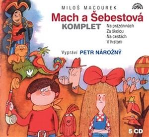 Mach a Šebestová. Komplet - 5 CD (audiokniha)