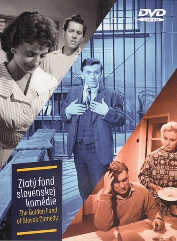 Zlatý fond slovenskej komédie I. - 3 DVD