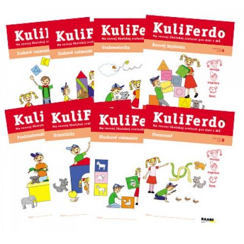 KuliFerdo - Na rozvoj školskej zrelosti pre deti v MŠ - sada (8 ks)