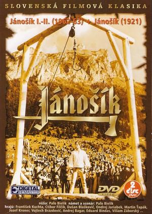 Jánošík I.-II. (1962-63) + Jánošík (1921) - 2 DVD