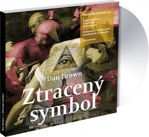 Ztracený symbol - 2 CD MP3 (audiokniha)