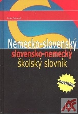 Nemecko-slovenský a slovensko-nemecký školský slovník