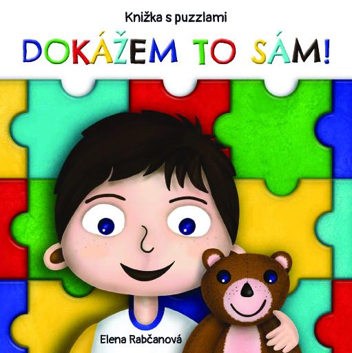 Dokážem to sám - knižka s puzzlami
