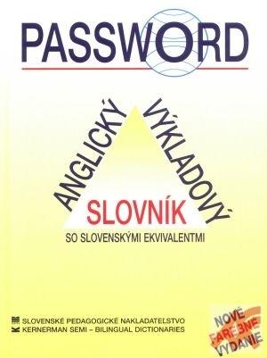 Password - anglický výkladový slovník
