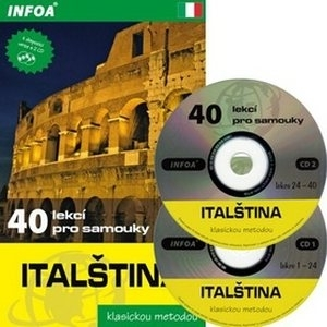 Italština klasickou metodou. 40 lekcí pro samouky + 2 CD