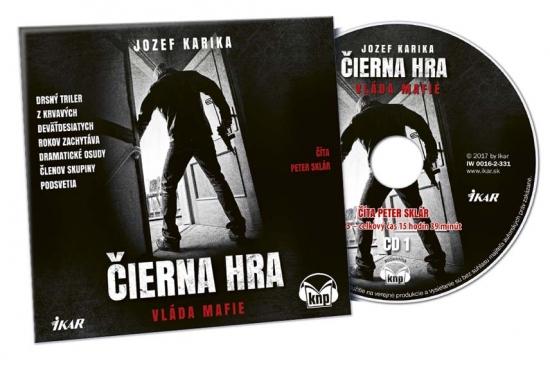 Čierna hra - 2CD (audiokniha)