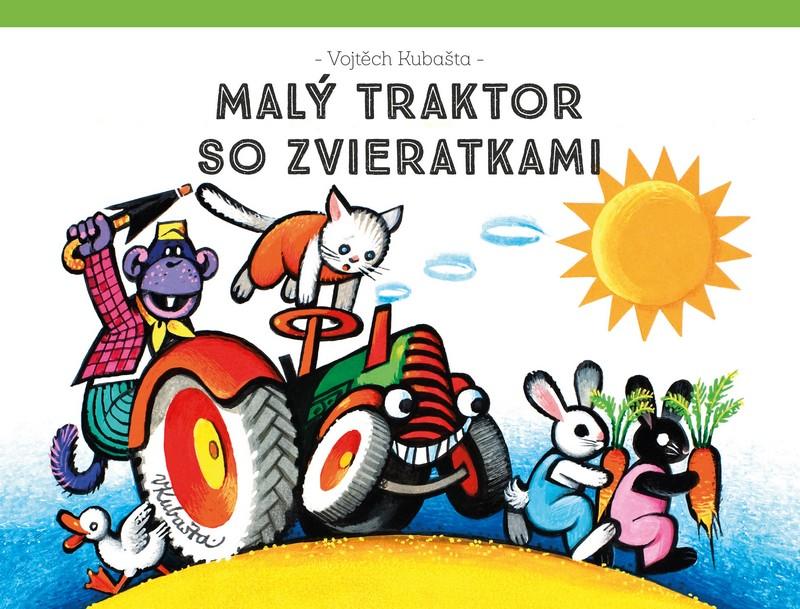 Malý traktor so zvieratkami